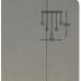 SEARCHLIGHT 28702-5CC Quartz, Závesné svietidlo