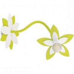 Nowodvorski 6897 FLOWERS GREEN, nástenné/stropné svietidlo
