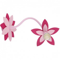 Nowodvorski 6893 FLOWERS PINK, nástenné/stropné svietidlo