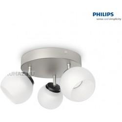 Massive - Philips Balla plate/spiral nickel 3x4W 230V 53323/17/16 stropné svietidlo