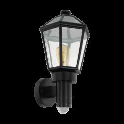 EGLO 97257 MONSELICE,Vonkajšie nástenné svietidlo so senzorom