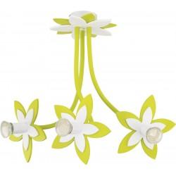 Nowodvorski 6898 FLOWERS GREEN, stropné svietidlo
