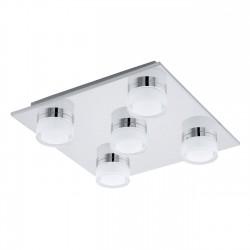 94654 EGLO  LED-WL/5 CHROM/SAT-KLAR ROMENDO stropné svietidlo