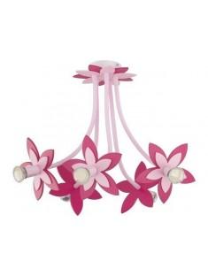 Nowodvorski 6896 FLOWERS PINK, stropné svietidlo