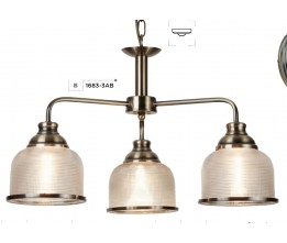 Searchlight 1683-3AB Bistro II, Závesné svietidlo