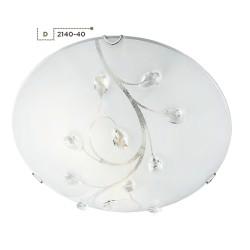 Searchlight 2140-40 Flush, Stropné svietidlo