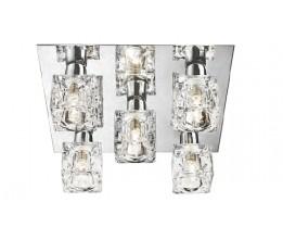Searchlight 2275-5-LED Ice Cube, LED Stropné svietidlo
