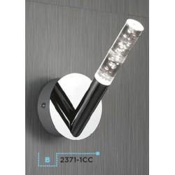 Searchlight 2371-1CC Bubbles, LED Nástenné svietidlo