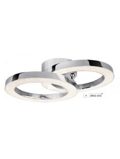 Searchlight 2602-2CC Rings, LED Stropné svietidlo