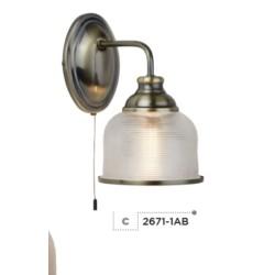 Searchlight 2671-1AB Bistro II, Nástenné svietidlo