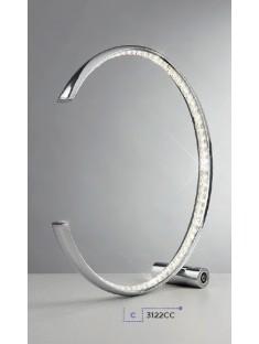 Searchlight EU3122CC Rings, LED Stolové svietidlo