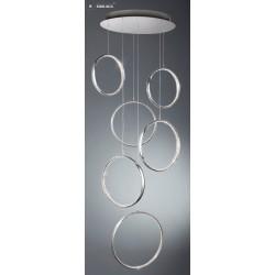 Searchlight 3166-6CC Rings, LED Závesné svietidlo