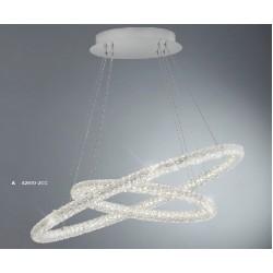 Searchlight 42610-2CC Circle, LED Závesné svietidlo