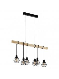 Eglo 43133 Závesná lampa Townshend 5