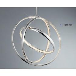 Searchlight 5013-3CC Rings, LED Závesné svietidlo