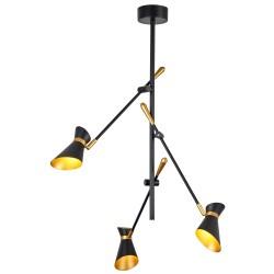 Searchlight 5943-3BG Diablo, LED Závesné svietidlo