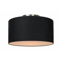Lucide CORAL Ceiling Light E27 D35 H20cm Black- 61113/35/30