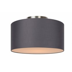 Lucide CORAL Ceiling Light E27 D35 H20cm Grey- 61113/35/36