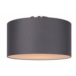 Lucide CORAL Ceiling Light E27 D45 H25cm Grey- 61113/45/36