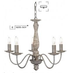 Searchlight 9235-5GY Sycamore, Závesné svietidlo