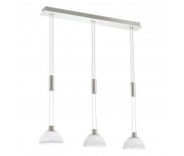 EgloLED-HL/3 NICKEL-M/ALABSTER MONTEFIO-  93468 závesná lampa