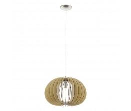 EGLO 94767 HL/1 E27 Ø450 AHORN/NICKEL-M.COSSANO závesná lampa