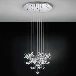 Eglo 93662 LED Závesné svietidlo PIANOPOLI