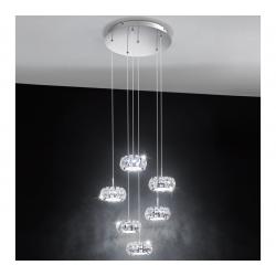 EGLO 39008 LED Závesné svietidlo CORLIANO