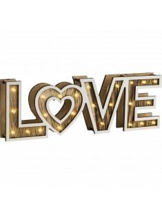 Dekoračné stolové svietidlo Globo 29976 LOVE