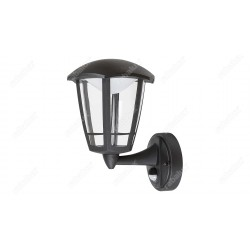 Rábalux 7849 SORRENTO, Vonkajšie nástenné svietidlo so senzorom