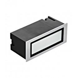 Schrack Technik LI66269 Zimba Pro 4W 3000K sivá IP65, Zapustené svietidlo