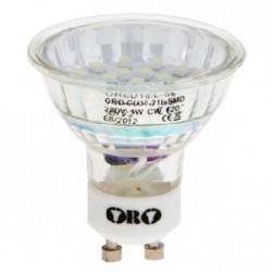 LED-POL GU10-ORO-21L-SMD-CZ