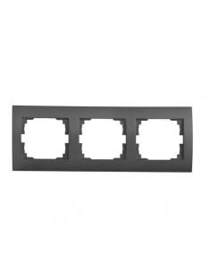 Kanlux 25296 LOGI Trojnásobný horizontálny rámik Grafit