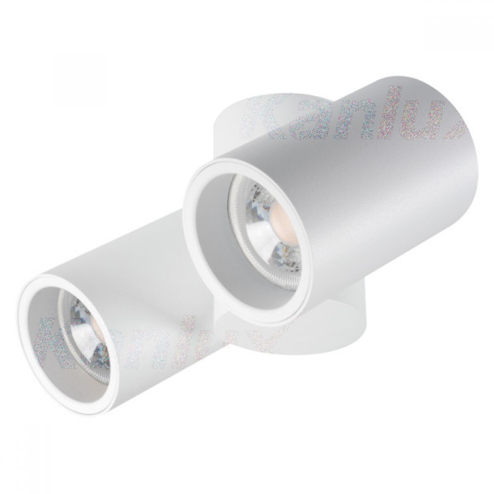 Kanlux 32953 BLURRO 2xGU10 CO-W, Stropné svietidlo