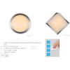 Lucide 79171/13/12 GENTLY-LED, Stropné svietidlo