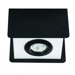 Kanlux 28461 TORIM DLP-50 B-W Prisadené stropné svietidlo