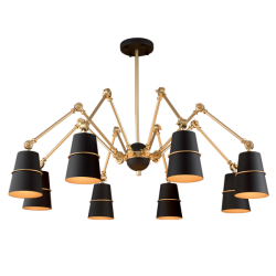 Elmark 955SPIDER8/BK SPIDER, Závesné svietidlo