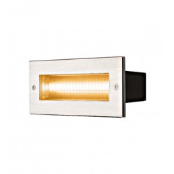 Schrack Technik LI233650  BRICK, Vonkajšie vstavané nástenné svietidlo
