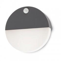 REDO 9162 FACE, Vonkajšie nástenné svietidlo so senzorom