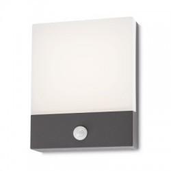 REDO 9164 FACE, Vonkajšie nástenné svietidlo so senzorom