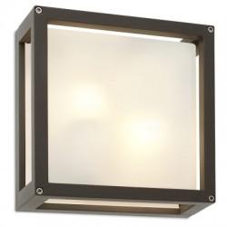 REDO 9892 BRICK, Vonkajšie nástenné svietidlo