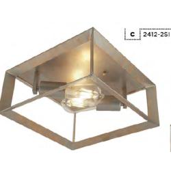 Searchlight 2412-2SI HEANTON, Stropné svietidlo