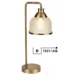 Searchlight  EU1351-1AB BISTRO II, Stolové svietidlo