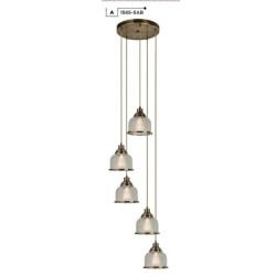 Searchlight  1585-5AB BISTRO II, Závesné svietidlo