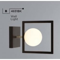 Searchlight  4831BK ROSEWELL, Nástenné svietidlo