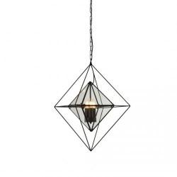 Searchlight 7323-3BK Diamond, závesné svietidlo