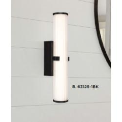 Searchlight 63125-1BK CLAMP, Nástenné svietidlo