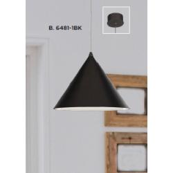 Searchlight 6481-1BK CONICAL, Závesné svietidlo