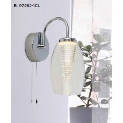 Searchlight 97292-1CL CYCLONE, Nástenné svietidlo