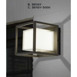 Searchlight 3811GY-3000 OHIO, Vonkajšie nástenné svietidlo